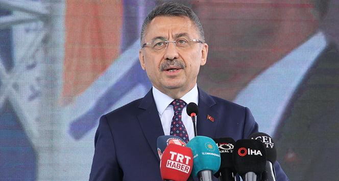 Cumhurbaşkanı Yardımcısı Oktay, AB'yi eleştirdi