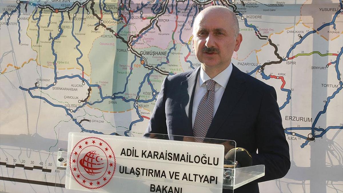 Bakan Karaismailoğlu: Yusufeli Barajı ve baraj yollarının bir an önce bitirilmesi için hummalı bir çalışma yapılıyor
