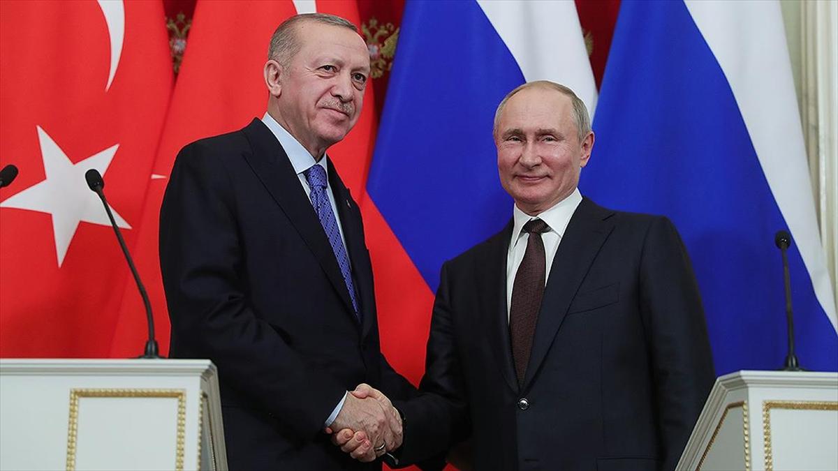 Erdoğan ve Putin Dağlık Karabağ'ı görüştü