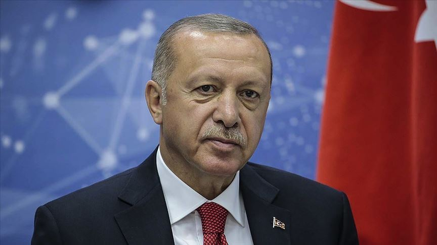 Liderlerden Cumhurbaşkanı Erdoğan'a 'geçmiş olsun' telefonu
