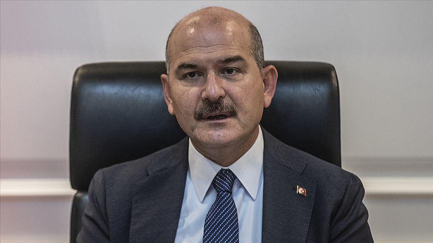 Bakan Soylu: 27 yıllık terör örgütü mensubu Şanlıurfa'da teslim oldu