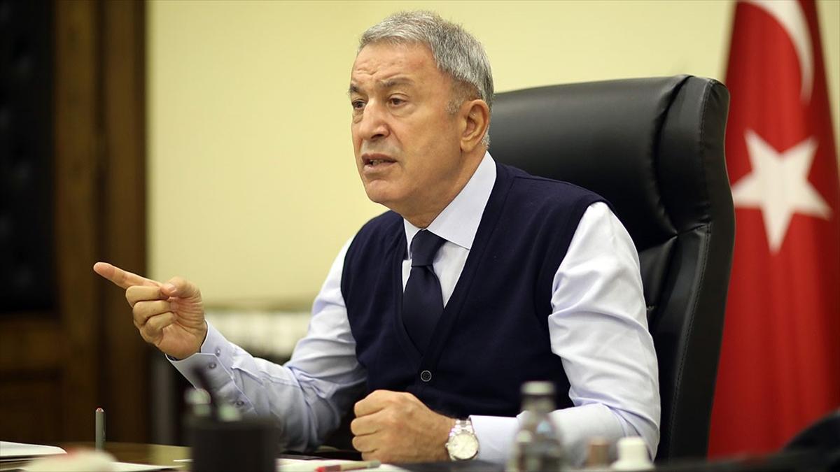 Bakan Akar: Doğu Akdeniz'de hakkımızı yedirmedik, yedirmeyeceğiz