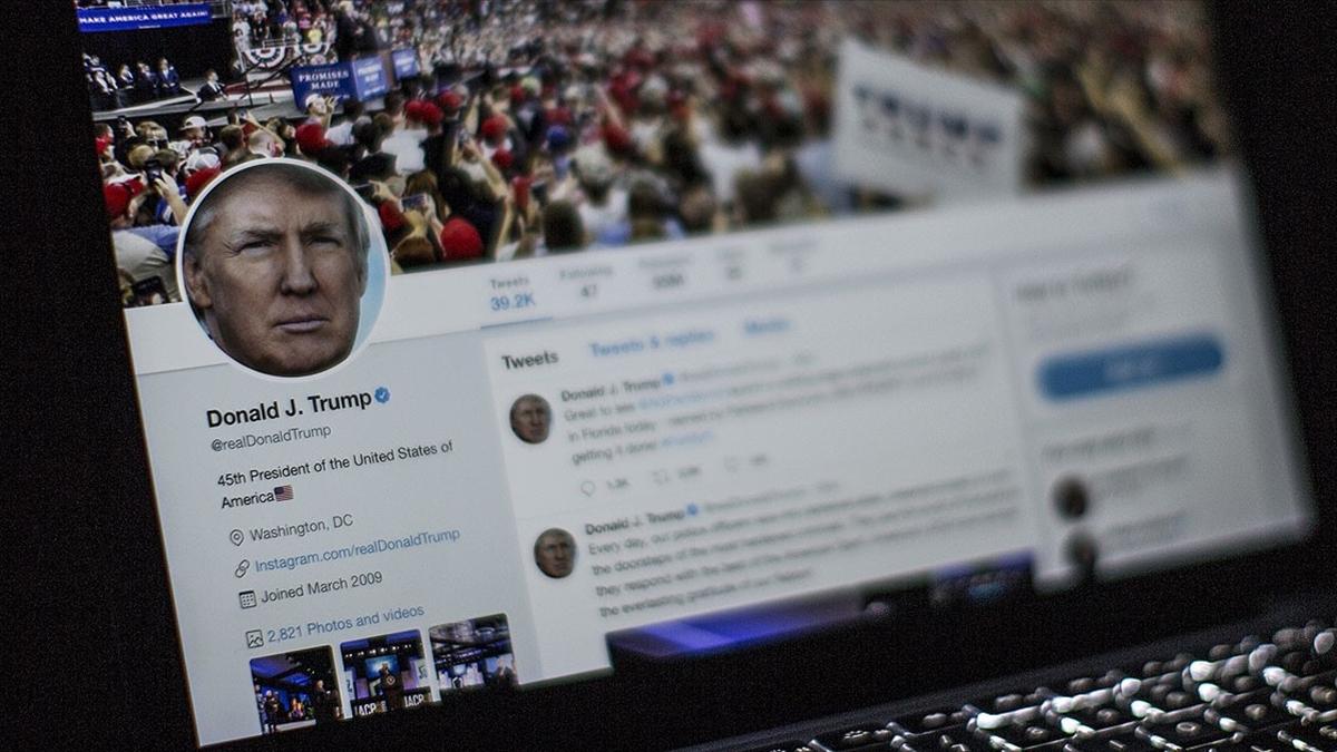 Twitter'dan Trump'ın seçim paylaşımına 'uyarı' etiketi