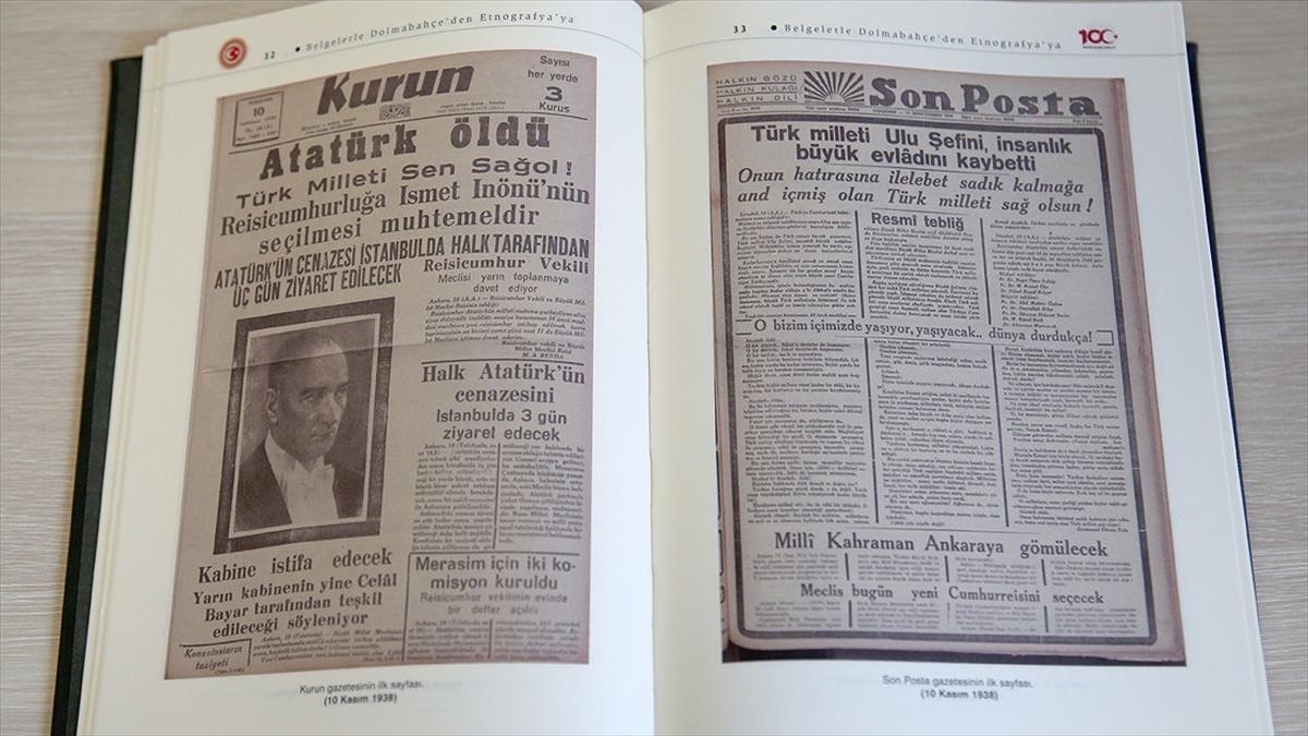 Atatürk'ün naaşının Dolmabahçe'den Etnografya müzesine yolculuğu kitaplaştırıldı