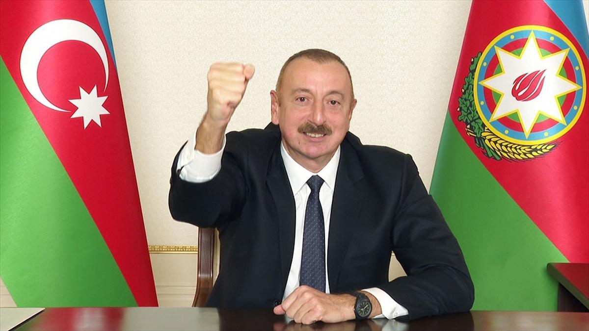 Azerbaycan'ın Dağlık Karabağ'daki zaferi Aliyev'in 'Ne oldu Paşinyan' sözleriyle hafızalara kazındı