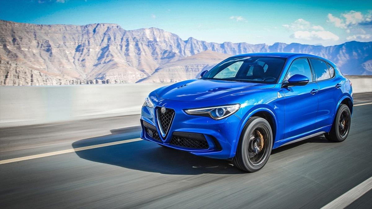 Alfa Romeo Stelvio'ya Almanya'dan ödül