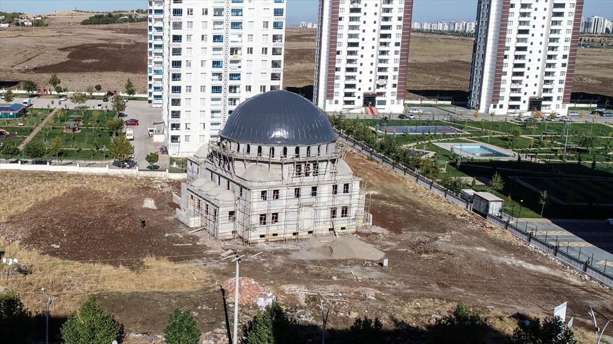 HDP'li belediyenin yapımını engellemeye çalıştığı camiler gelecek yıl ibadete açılıyor