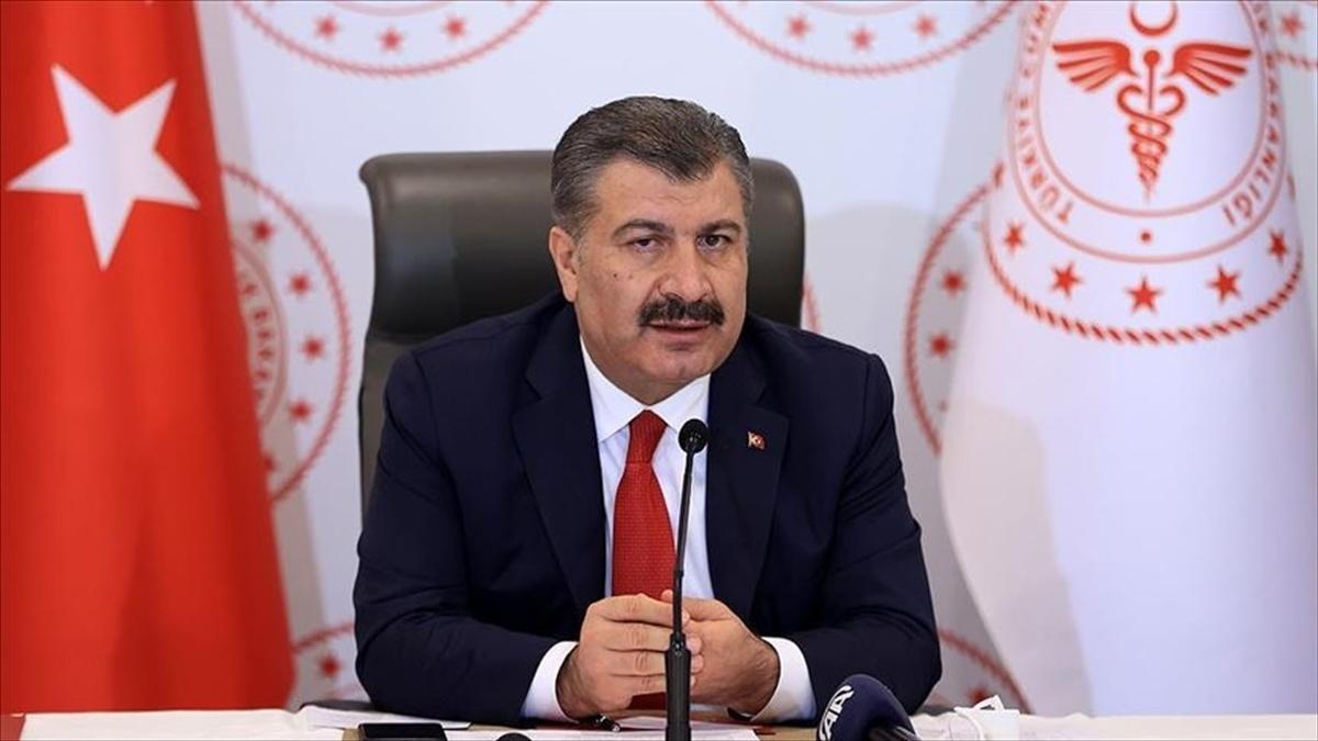 Sağlık Bakanı Koca, 2 ilde vaka artış oranının yüzde 100 olduğunu açıkladı