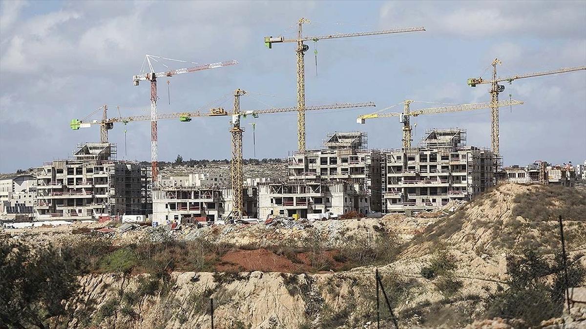 İsrail Kudüs'te 9 bin gayrimeşru yerleşim birimi kurma çalışmasını hızlandırıyor