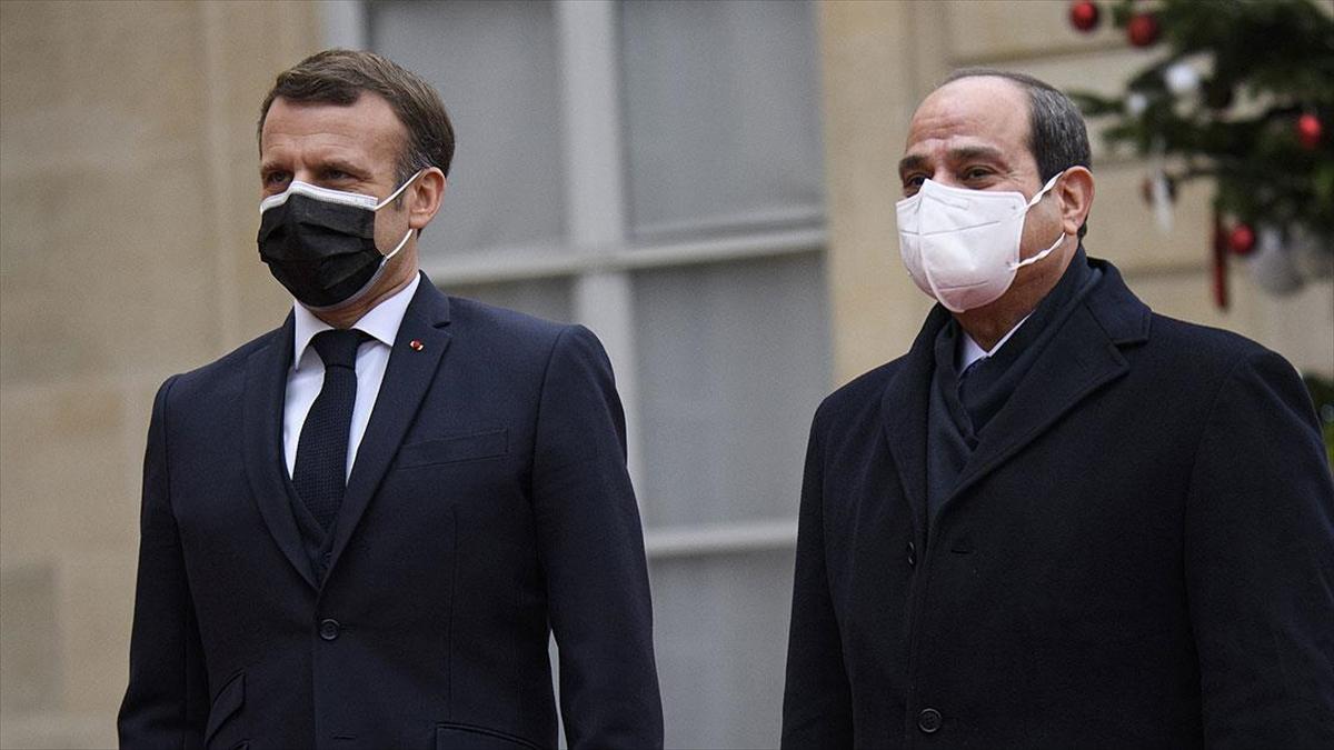 Macron, insan hakları ihlalleri nedeniyle Mısır ile iş birliğini şarta bağlamayacak