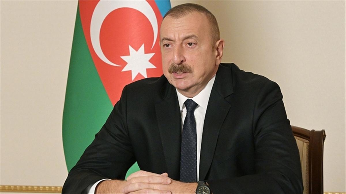 Azerbaycan Cumhurbaşkanı Aliyev: Minsk Grubu çatışmanın çözümünde herhangi bir rol oynamadı