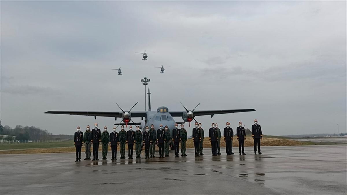İlk 'P-72 Deniz Karakol Uçağı' Deniz Kuvvetleri Komutanlığı envanterine kazandırıldı