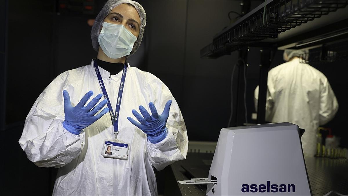 ASELSAN virüslere karşı yeni tanı sistemi geliştiriyor