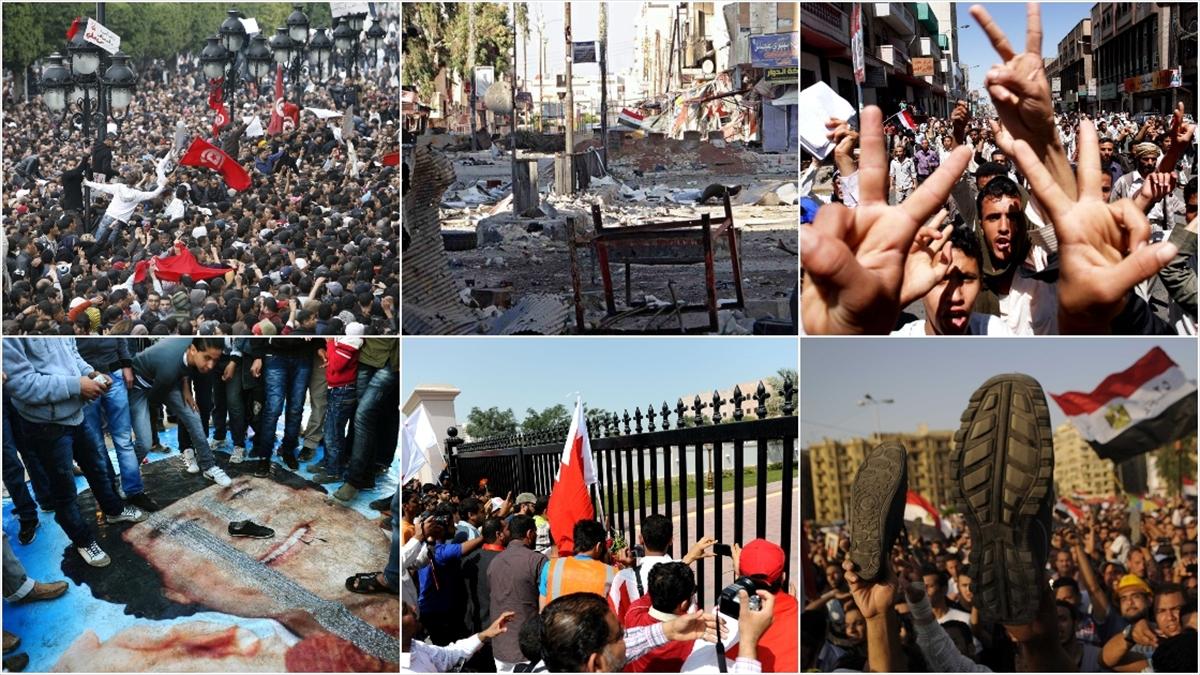 Arap Baharı'nın ilk devriminin üzerinden 10 yıl geçti