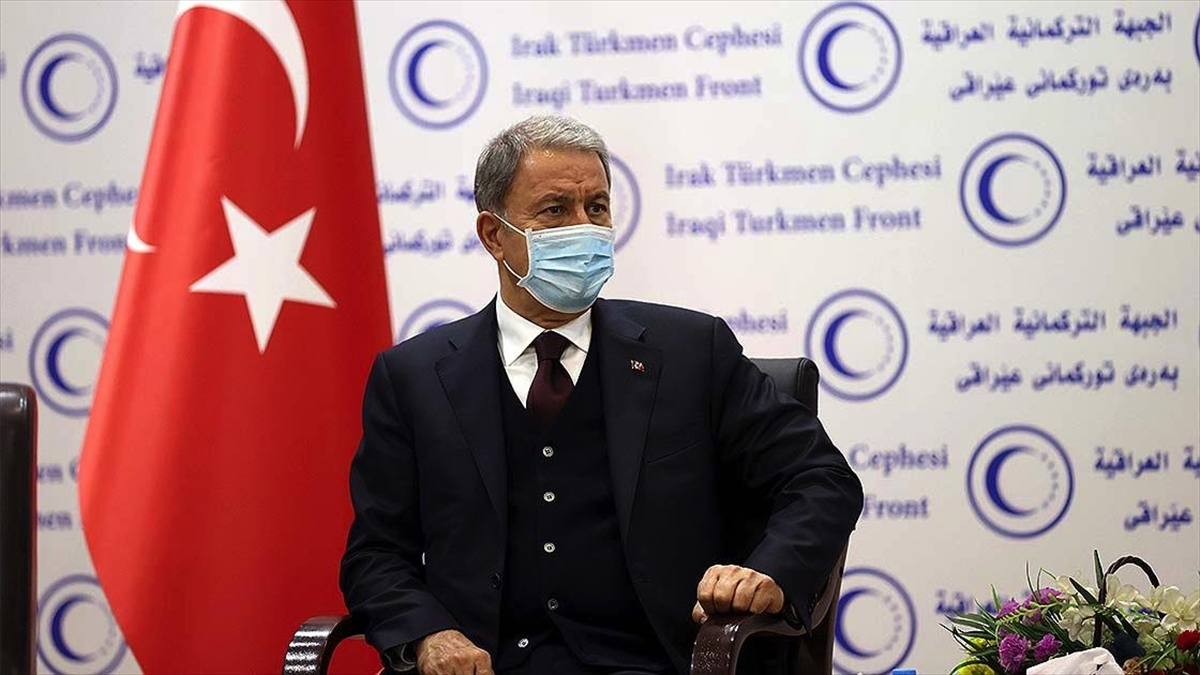 Akar: Hem bölgesel yönetim hem de Bağdat ile yapacağımız iş birliği sonucunda teröristlerin sonunu getirmekte kararlıyız
