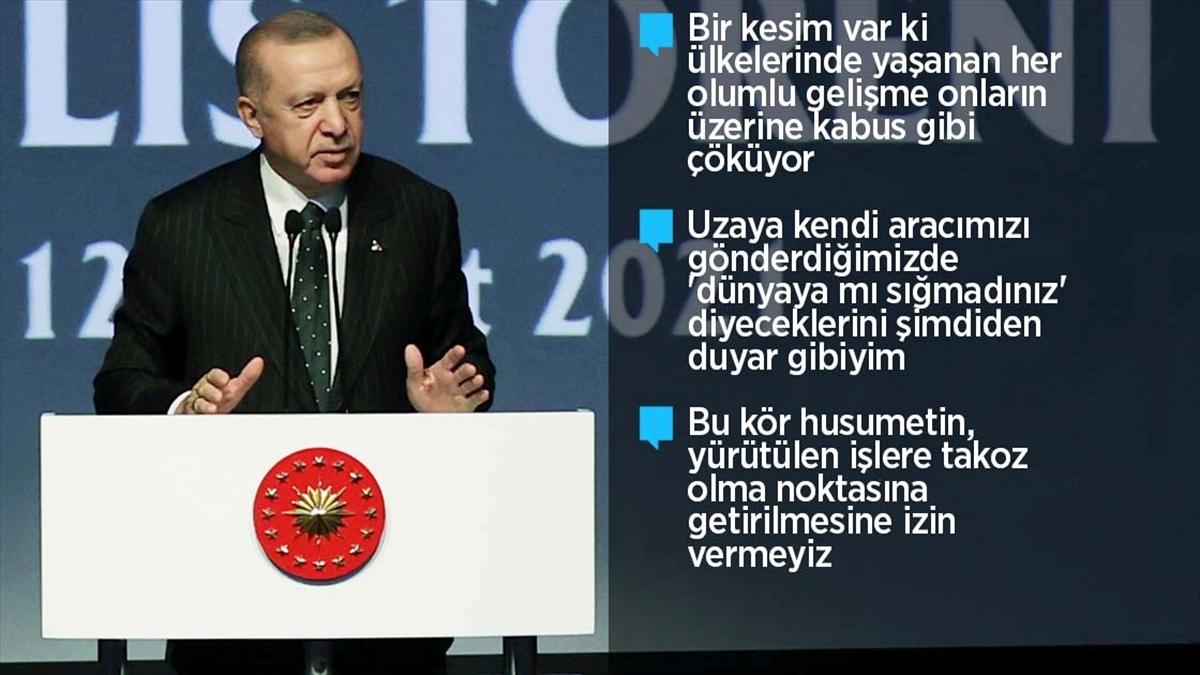 Cumhurbaşkanı Erdoğan: Bütçeden üniversitelerimiz için ayırdığımız payı 36 milyar liraya yükselttik