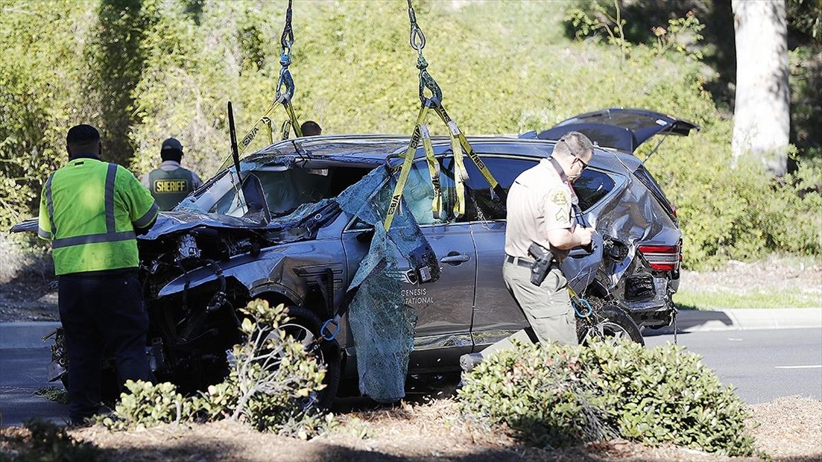 Trafik kazası geçiren ABD'li ünlü golfçü Tiger Woods'un sağlık durumu iyi