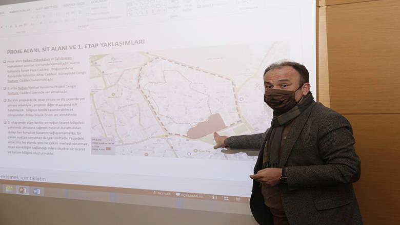 Balbey Projesi Kent Konseyi İmar Grubu'na anlatıldı