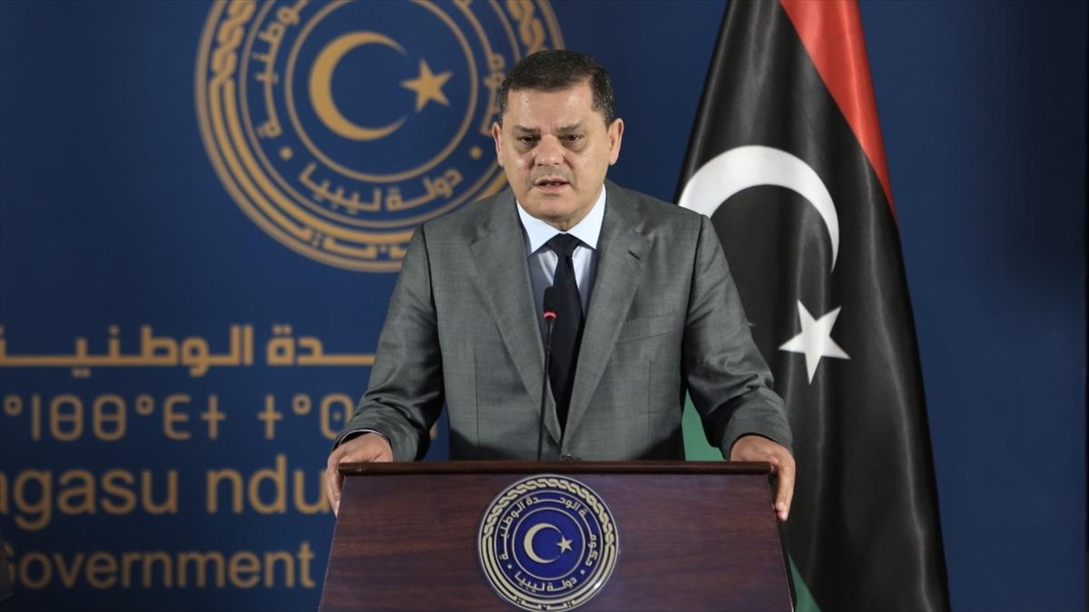 Libya Başbakanı Dibeybe, heyetindeki 14 bakanla birlikte pazartesi günü Türkiye'de temaslarda bulunacak