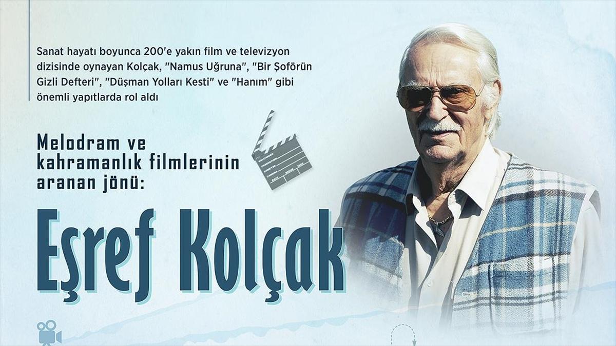 Melodram ve kahramanlık filmlerinin aranan jönü: Eşref Kolçak