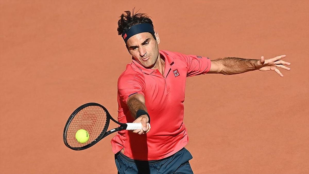 487 gün sonra grand slam maçına çıkan Federer Fransa Açık'ta ikinci tura yükseldi