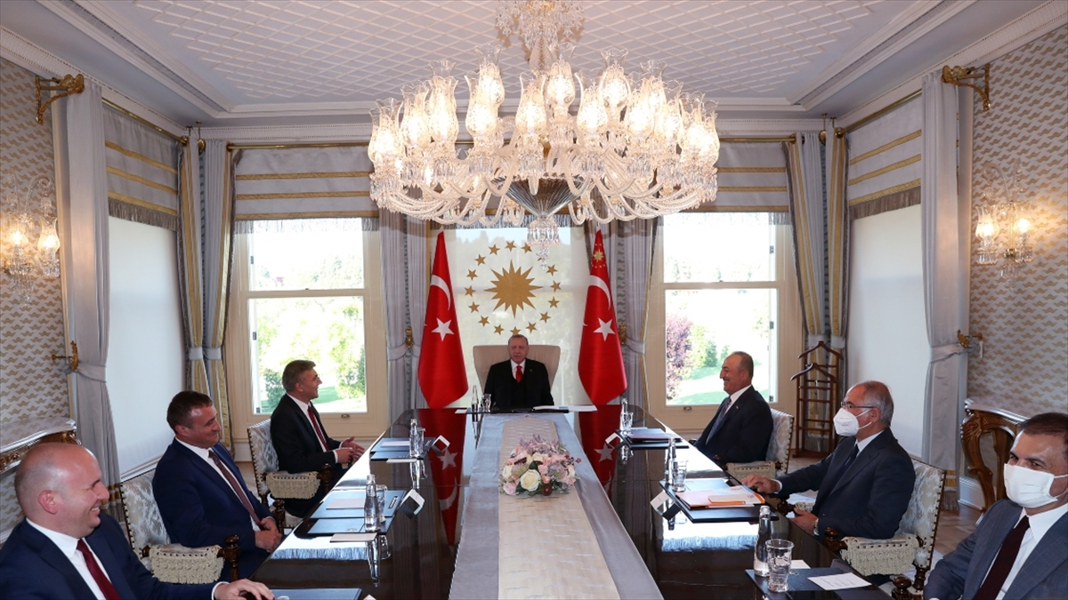 Cumhurbaşkanı Erdoğan, Bulgaristan Hak ve Özgürlükler Hareketi liderini kabul etti