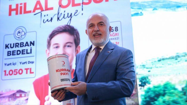 Türk Kızılay bu yıl yurt içi kurban bağış fiyatını artırmama kararı aldı