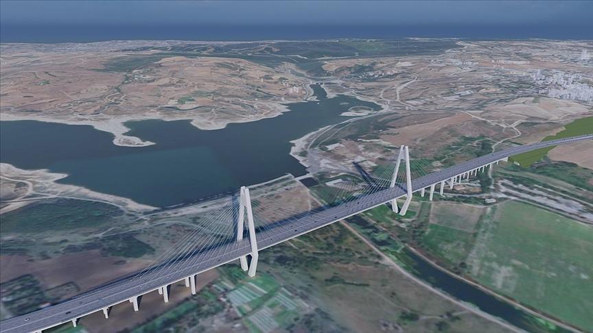 'Çılgın Proje' Kanal İstanbul'un temeli atılıyor