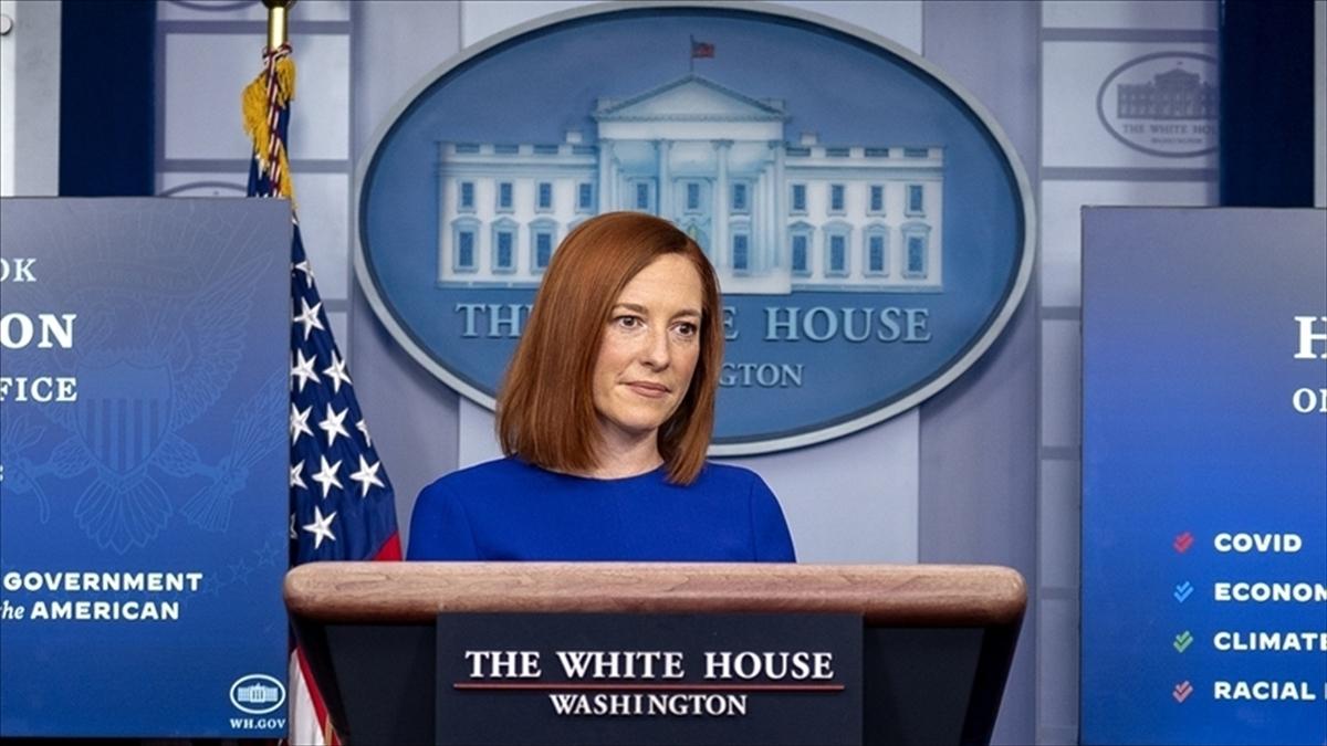 Beyaz Saray: Afganistan'dan çekilme sürecimizin ağustos sonuna kadar tamamlanmasını bekliyoruz