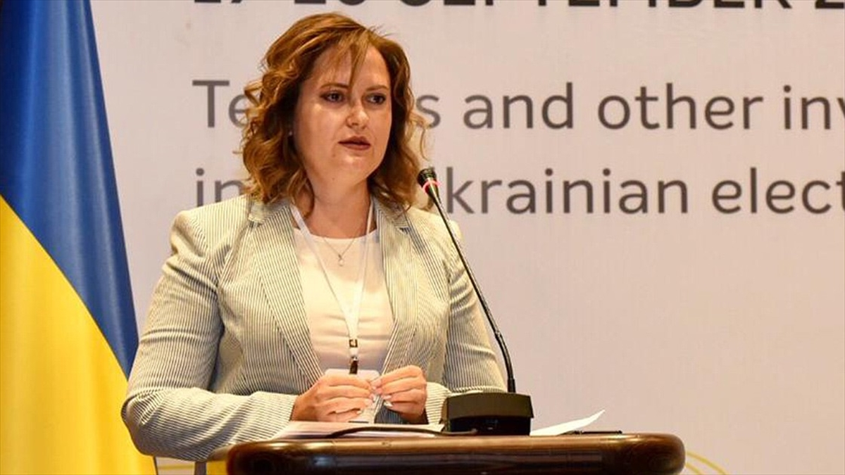 Ukrayna'nın Ankara Büyükelçiliği Maslahatgüzarı Lopatina, ülkesinin bağımsızlığının 30. yılını değerlendirdi