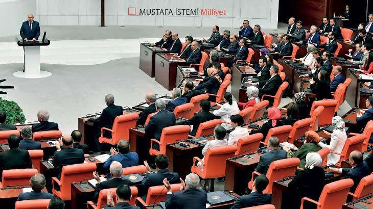 Meclis'te özel oturum yapıldı