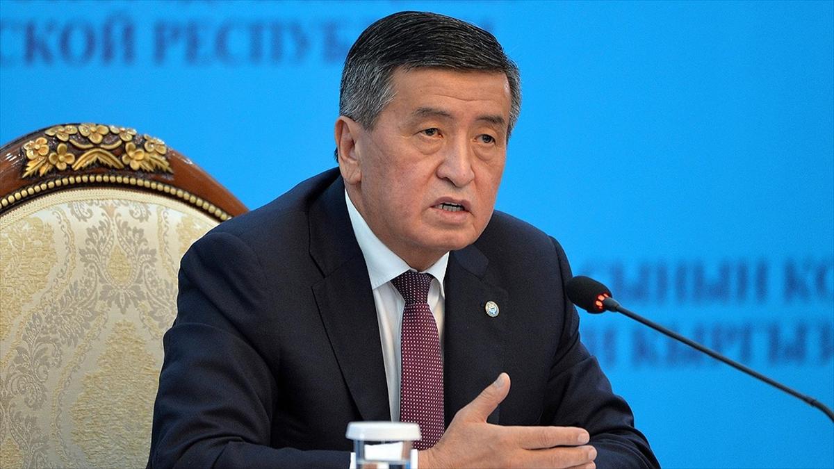 Kırgızistan Cumhurbaşkanı Ceenbekov: Durumun kötüleşmesini önlemek için mümkün olan tüm önlemleri aldık
