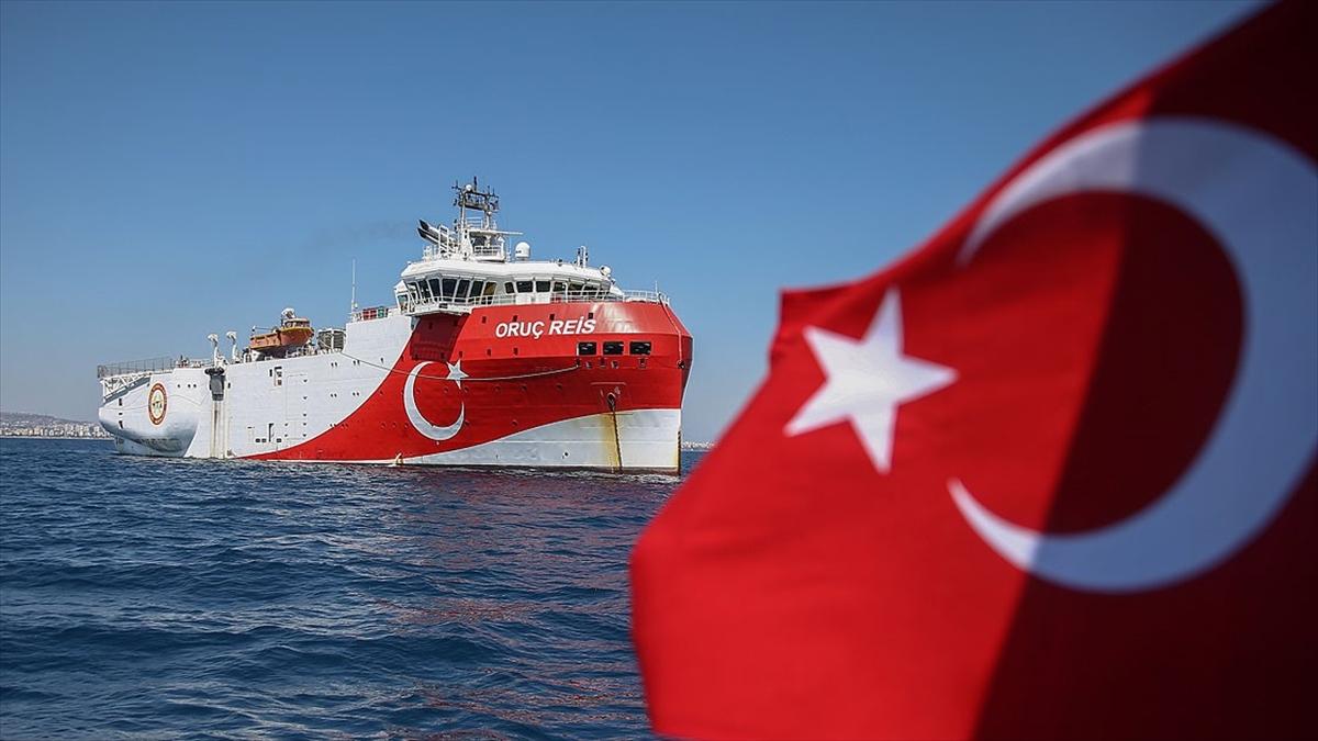 Dışişleri Bakanlığı: Oruç Reis'in faaliyetleri tamamen Türk kıta sahanlığı içindedir