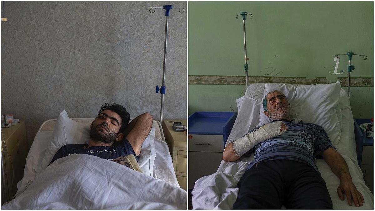 Ermenistan ordusunun 28 Ekim'deki Berde saldırısında sağ gözlerini kaybettiler