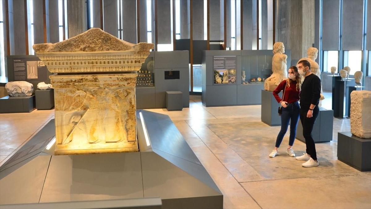 Troya Müzesine pandemi sürecinde 1 milyon sanal ziyaret