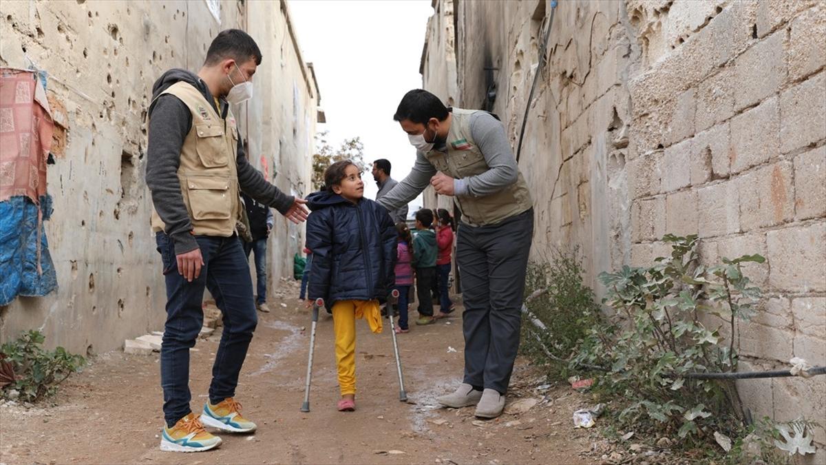 Hikayesini AA'nın duyurduğu Fatma protez bacağına kavuşacak