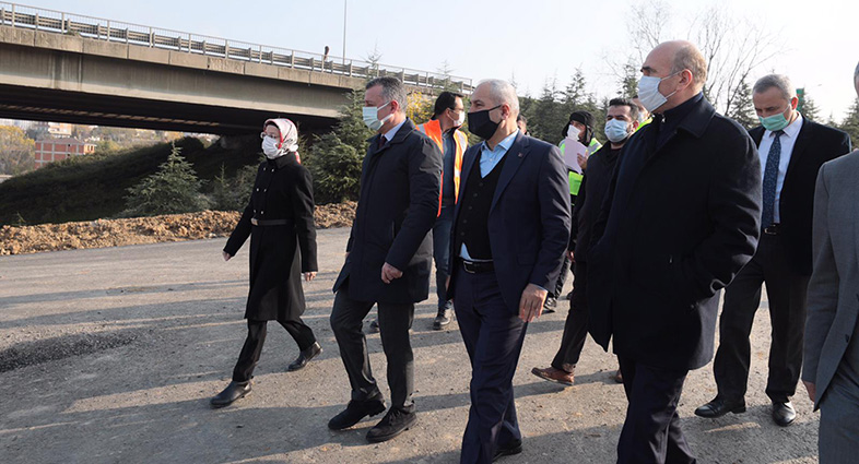 """Başkan Büyükakın, """"Bu proje ile Gebze'nin trafiği düzene girecek"""""""