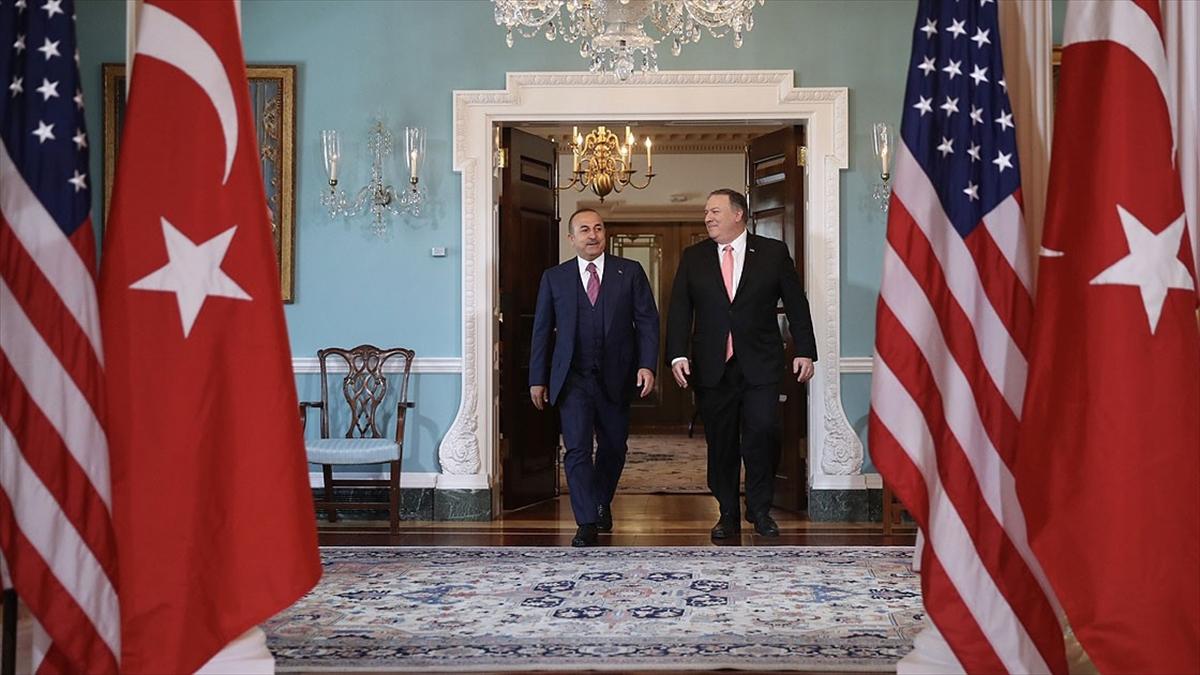 Bakan Çavuşoğlu ABD'nin yaptırım kararına ilişkin Türkiye'nin tepkilerini Pompeo'ya iletti