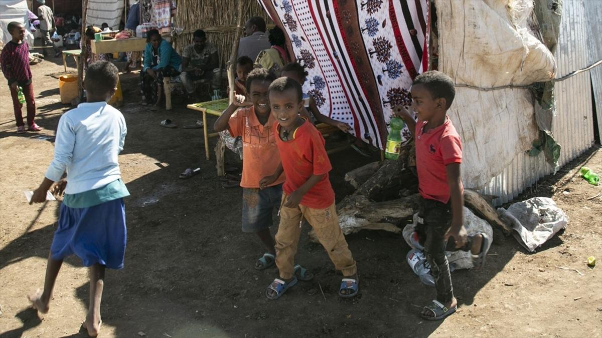 UNICEF: Etiyopya'nın Tigray bölgesinde 2,3 milyon çocuğa yardım erişimi kesildi