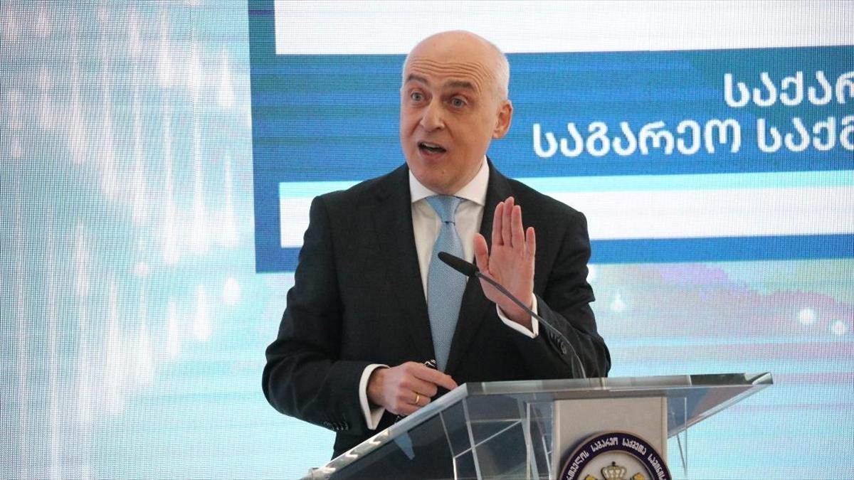 Gürcistan Dışişleri Bakanı Zalkaliani: Küresel salgınla mücadelede Türkiye bize olağanüstü yardımlarda bulundu