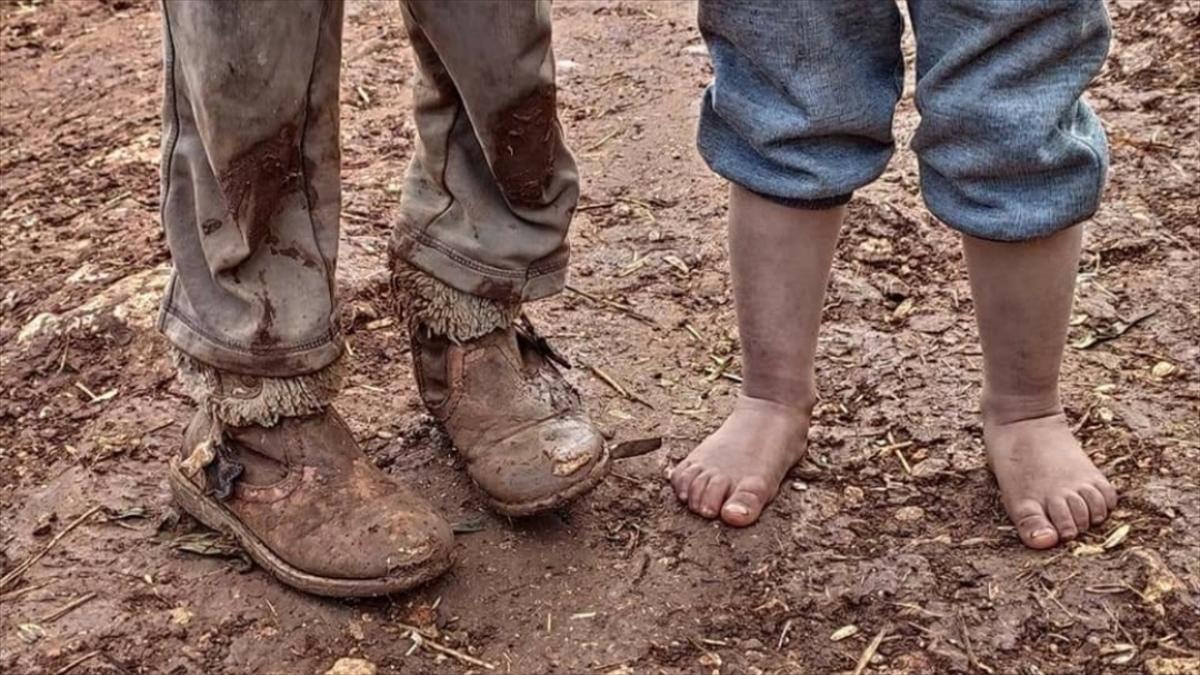 İdlib'de zor şartlarda yaşayan siviller için acil yardım kampanyası
