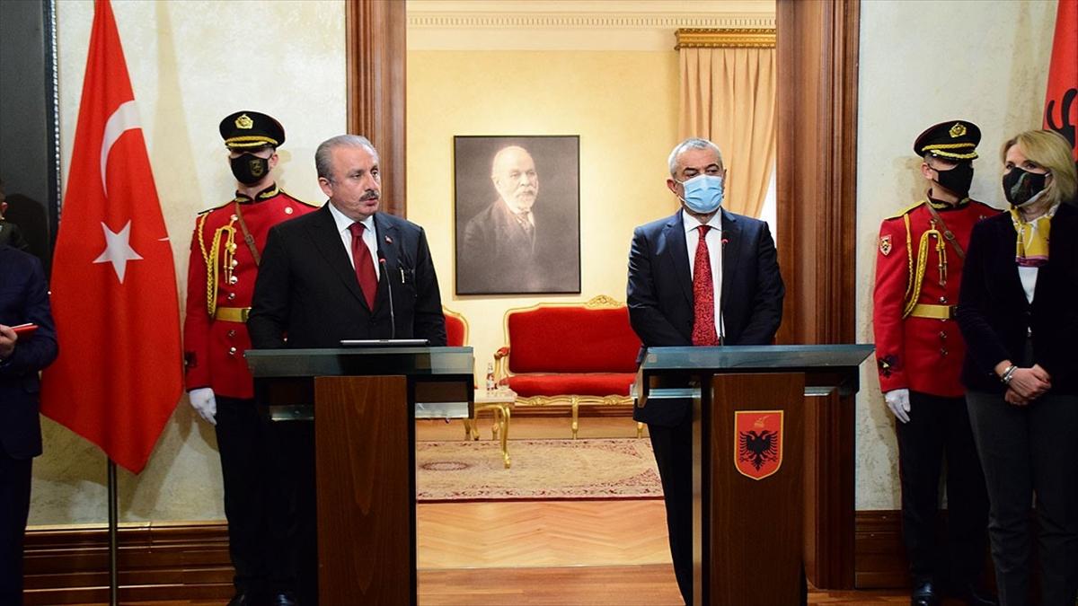 TBMM Başkanı Şentop: FETÖ'nün Türkiye-Arnavutluk ilişkilerini zehirlemesine asla izin vermeyeceğiz