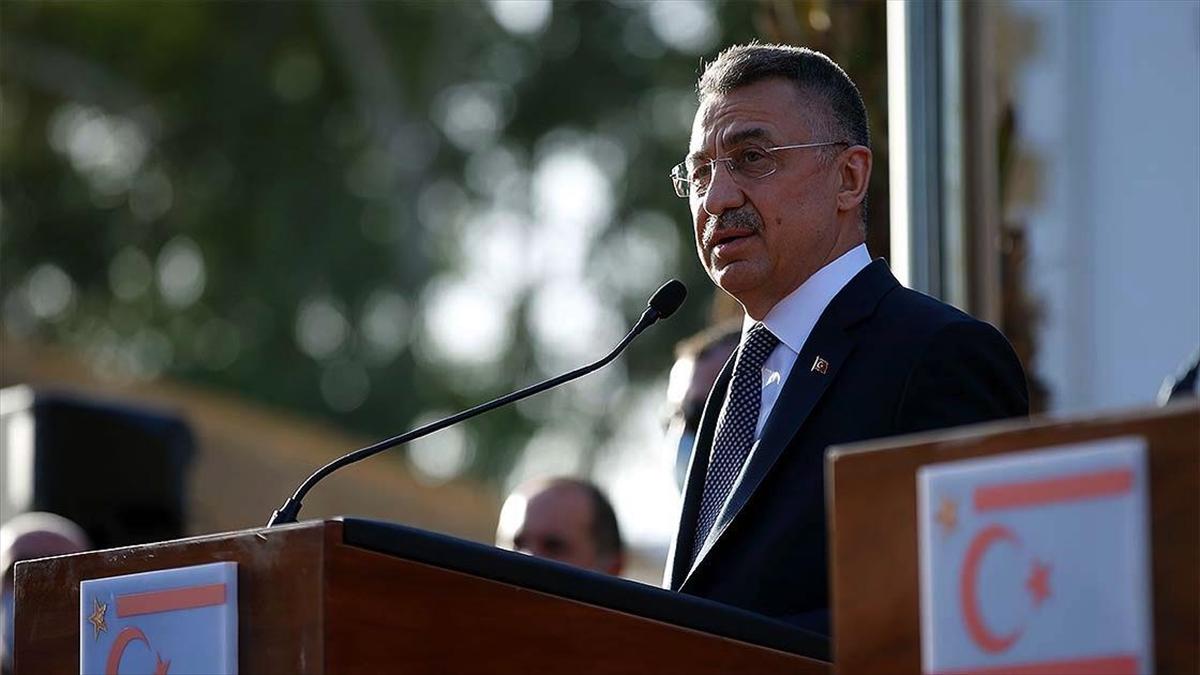 Cumhurbaşkanı Yardımcısı Oktay: İki devletli çözümden başka Kıbrıs'ta çıkış yolu yoktur