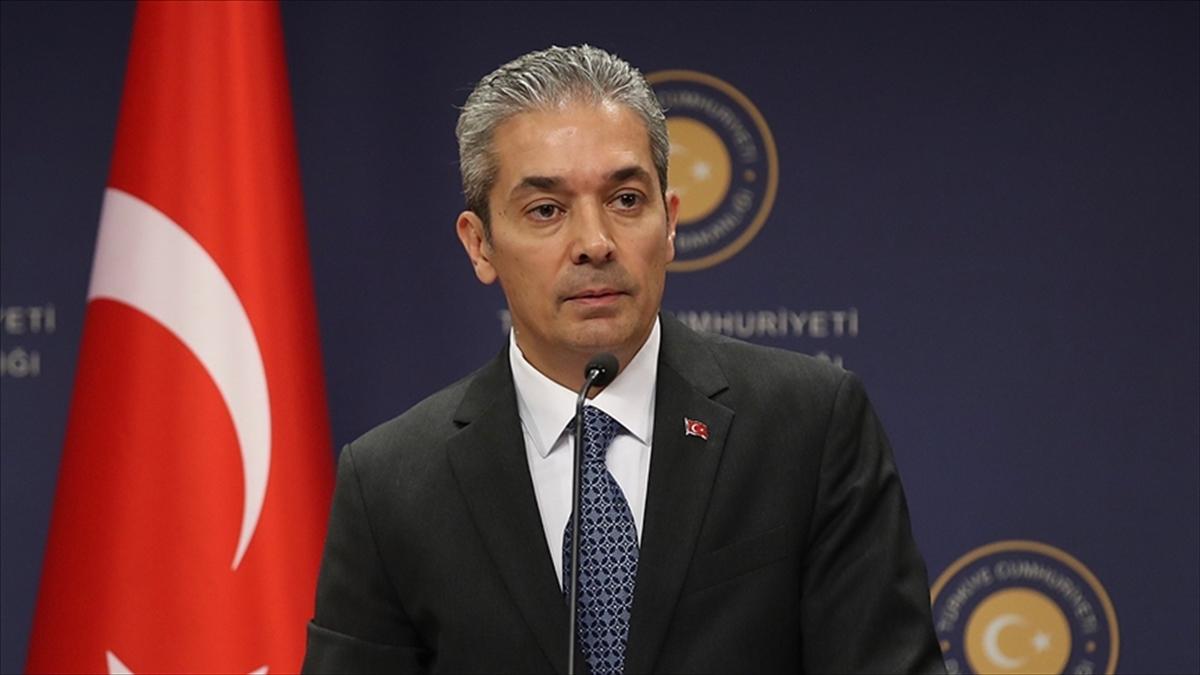 Dışişleri Bakanlığı Sözcüsü Aksoy: Hiç kimse Türk mahkemelerine yargı süreçleri hakkında emir veremez