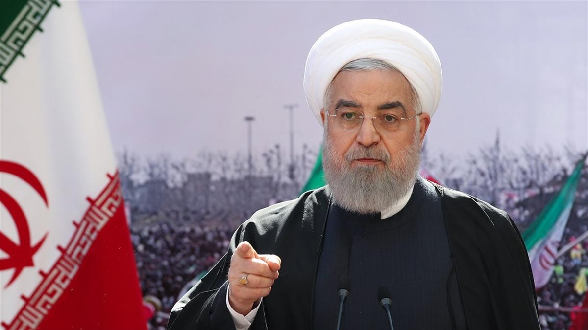 Ruhani: ABD'nin yeni yönetiminden henüz iyi niyet ve farklı tutum görmedik