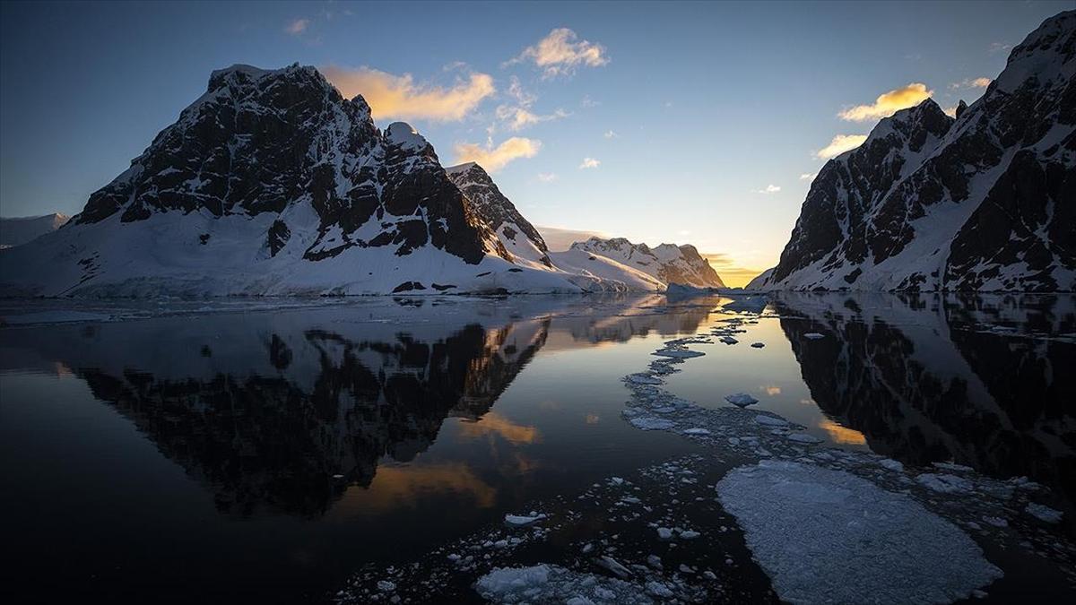 Antarktika'da güneş ışığının ulaşmadığı noktada deniz canlıların yaşadığı keşfedildi