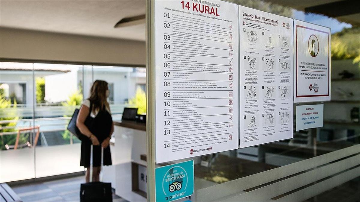 Türkiye'de 'Güvenli Turizm Sertifikası' alan konaklama tesisi sayısı 5 bin 216'ya ulaştı