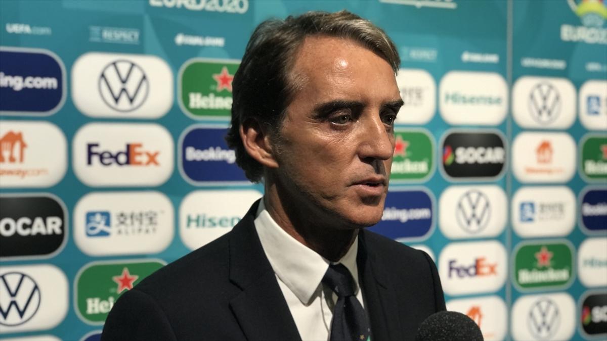 İtalya Teknik Direktörü Roberto Mancini: Türkiye'ye büyük saygım var çünkü çok güçlü bir takım