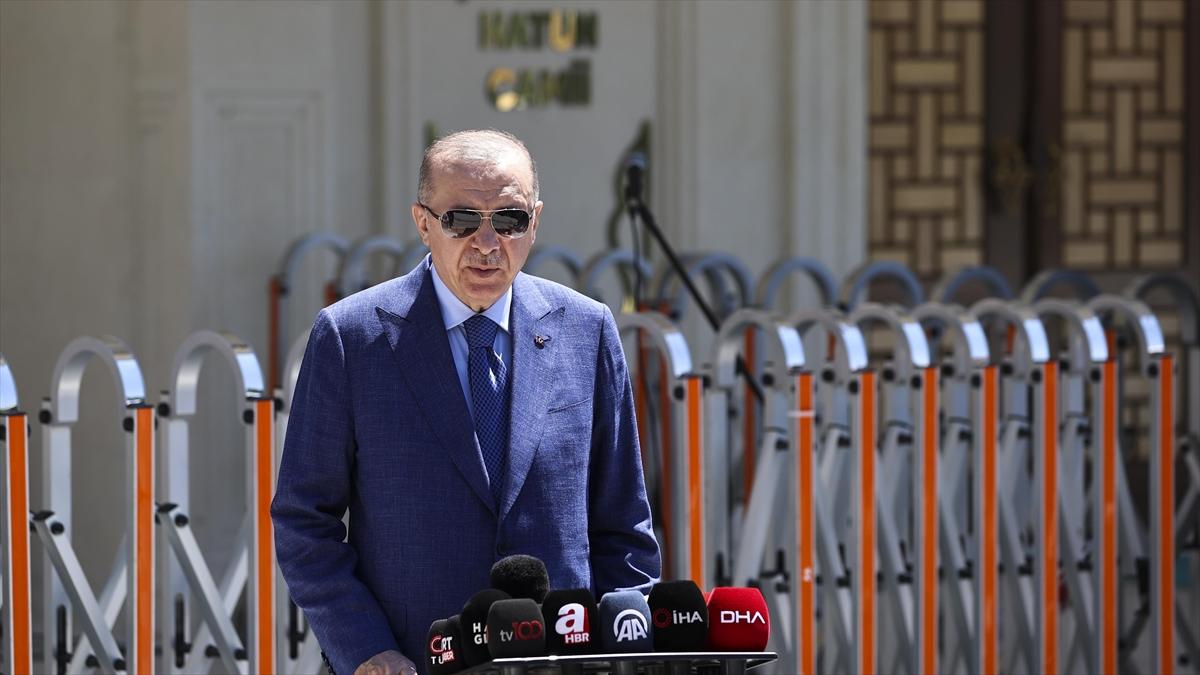 Cumhurbaşkanı Erdoğan: Türkiye NATO ülkeleri arasında ilk 5'te yerini alan güçlü bir ülke