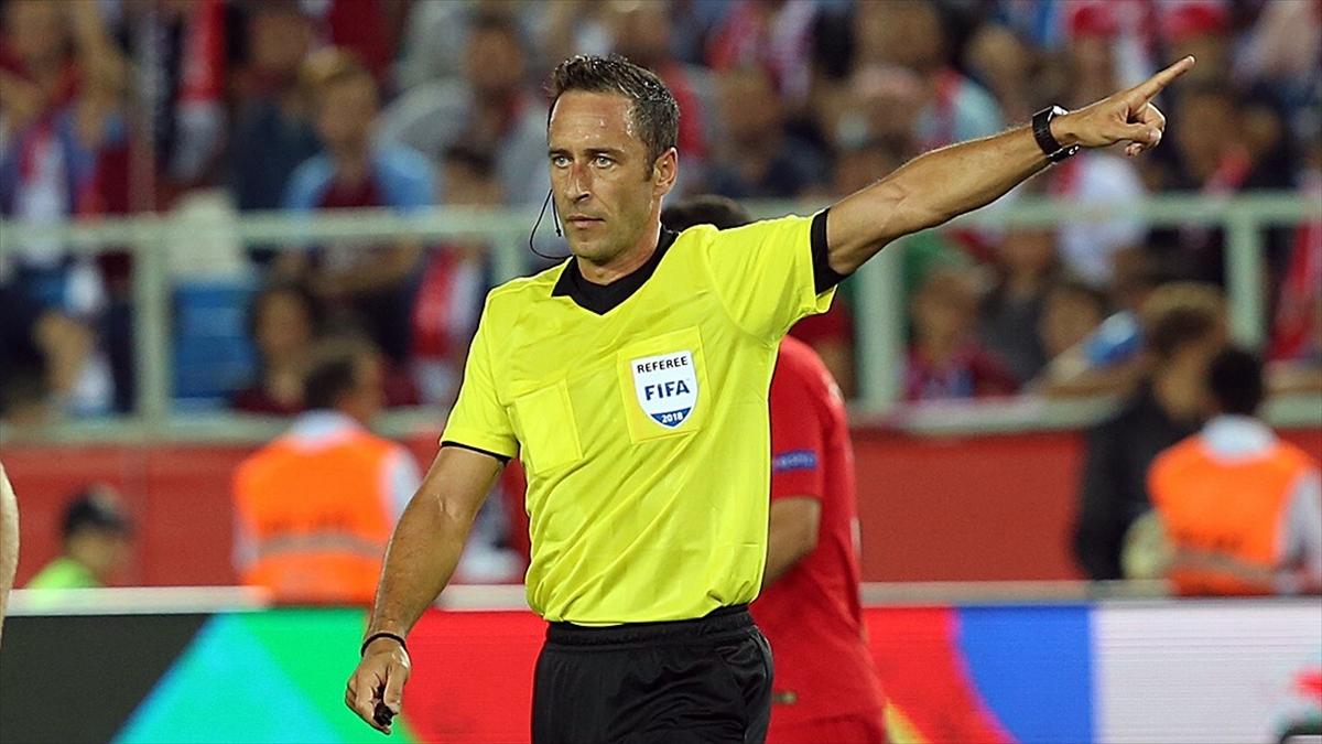 Türkiye-Galler maçını Portekizli hakem Artur Dias yönetecek
